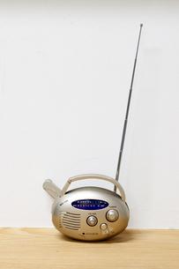 災害用充電式ラジオの写真素材 [FYI03871874]