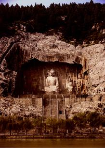 龍門石窟の写真素材 [FYI03871971]