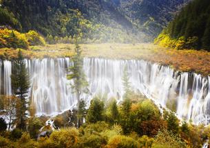 諾日朗瀑布 九寨溝の写真素材 [FYI03872034]