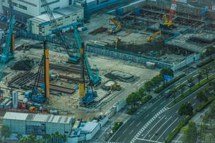工事現場・建設現場のイメージの写真素材 [FYI03875921]