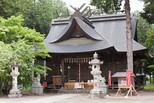冨士御室浅間神社 里宮 の写真素材 [FYI03876344]