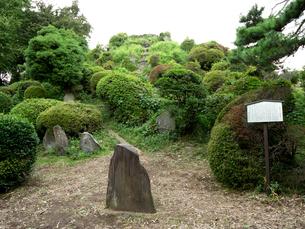 富士塚 大泉富士の写真素材 [FYI03876455]