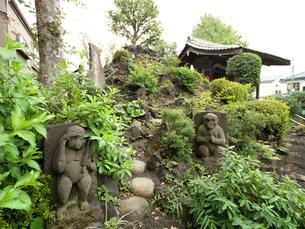 富士塚 下練馬富士の写真素材 [FYI03876468]