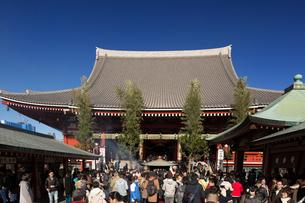 浅草寺の写真素材 [FYI03876507]