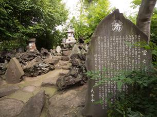 東京 鷲神社の島根富士の写真素材 [FYI03876522]