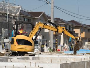 住宅建設の写真素材 [FYI03876581]