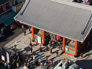 東京都 浅草寺雷門の写真素材 [FYI03876619]