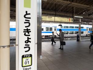 東京都 東京駅の写真素材 [FYI03876623]