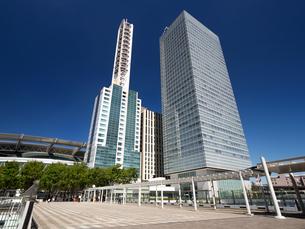 さいたま新都心の高層ビル街の写真素材 [FYI03876683]