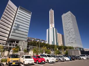 さいたま新都心のビル街の写真素材 [FYI03876687]