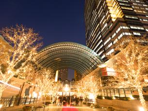夕暮れの恵比寿ガーデンプレイスの写真素材 [FYI03876759]