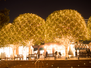夕暮れの恵比寿ガーデンプレイスの写真素材 [FYI03876760]