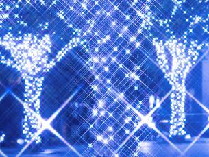 クリスマスイルミネーションの写真素材 [FYI03876766]