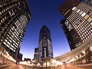 東京都 汐留の高層ビル街の写真素材 [FYI03876777]