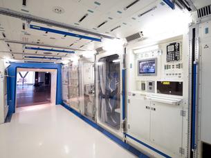 日本科学未来館 国際宇宙ステーションの模型の写真素材 [FYI03876843]