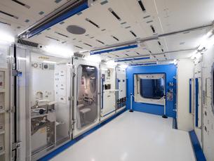 日本科学未来館 国際宇宙ステーションの模型の写真素材 [FYI03876846]