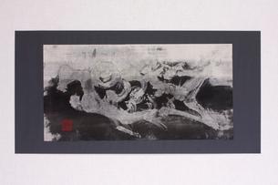 古代文字作品 魚のイラスト素材 [FYI03876866]