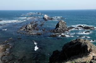 北海道 襟裳岬 -太平洋に沈み行く日高山脈-の写真素材 [FYI03877074]