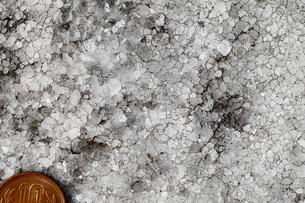 平尾台の結晶質石灰岩の岩石写真の写真素材 [FYI03877105]