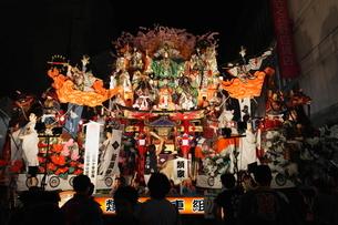 8月夏 東北の八戸三社大祭の写真素材 [FYI03877117]