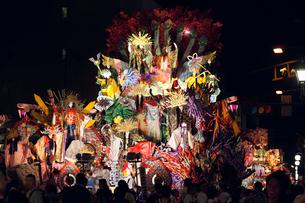 8月夏 東北の八戸三社大祭の写真素材 [FYI03877120]