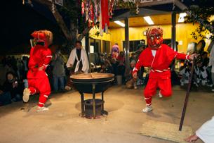 1月 奥三河の花祭りの写真素材 [FYI03877197]
