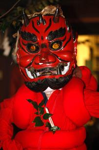 1月 奥三河の花祭りの写真素材 [FYI03877208]