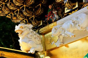 日光東照宮 陽明門の彫刻の写真素材 [FYI03877519]