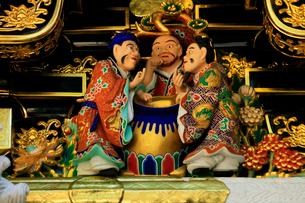 日光東照宮 陽明門の彫刻の写真素材 [FYI03877536]