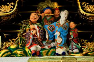 日光東照宮 陽明門の彫刻の写真素材 [FYI03877537]