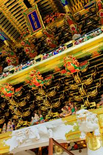 日光東照宮 陽明門の彫刻の写真素材 [FYI03877541]