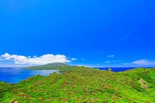 小笠原諸島母島 小富士より母島北方向を望むの写真素材 [FYI03877635]