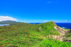 小笠原諸島母島 小富士より母島北方向を望むの写真素材 [FYI03877638]
