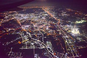 ソウル市の夜景の写真素材 [FYI03877793]