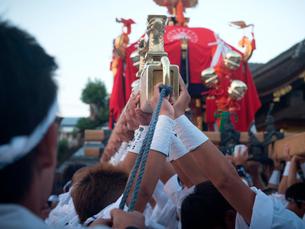 京都府 瀧尾神社 神幸祭の写真素材 [FYI03877853]