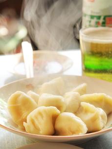 中国 張家口 あつあつ蒸し餃子の写真素材 [FYI03877900]