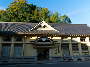 兵庫 城崎温泉 一の湯の写真素材 [FYI03878023]