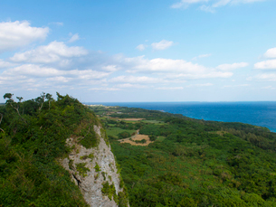 沖縄県 伊良部島 牧山展望台の写真素材 [FYI03878068]