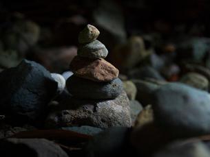 新潟県 佐渡島 賽の河原の写真素材 [FYI03878097]