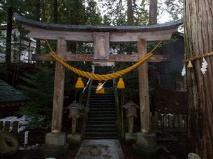 新潟県 佐渡島 五所神社の写真素材 [FYI03878098]
