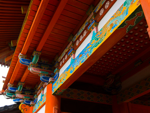 和歌山県 紀州東照宮 楼門の写真素材 [FYI03878145]