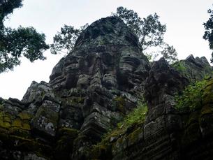 カンボジア シェムリアップ バンテアイ・クディの写真素材 [FYI03878174]