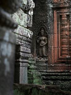 カンボジア シェムリアップ バンテアイ・クディの写真素材 [FYI03878175]