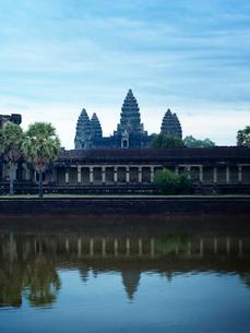 カンボジア シェムリアップ アンコールワットの写真素材 [FYI03878206]