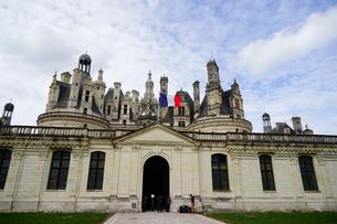 フランス ロワール地方のシャンボール城の写真素材 [FYI03878425]
