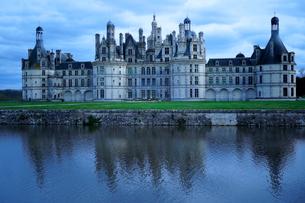 フランス ロワール地方のシャンボール城の写真素材 [FYI03878426]
