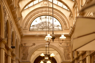パリ ギャルリーヴィヴィエンヌの写真素材 [FYI03878471]