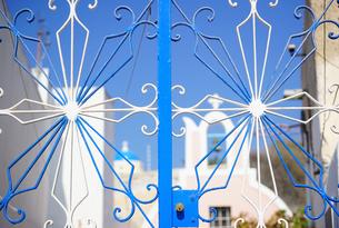 サントリーニ島イアの眺めの写真素材 [FYI03878527]