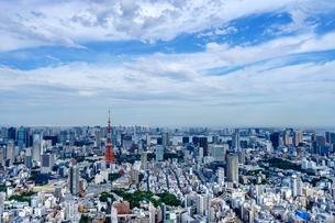 東京の眺望の写真素材 [FYI03878763]