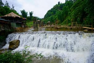 ベトナム カットカット村の写真素材 [FYI03878787]